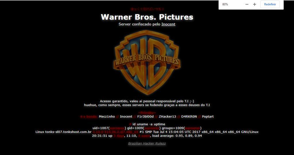 Deface - WarnerBros - Pryzraky