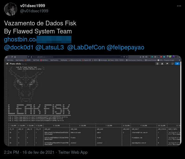 Br34k - Data Breach