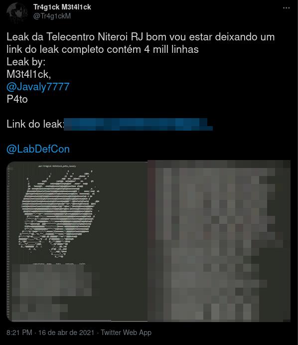 Telecentro - Leak