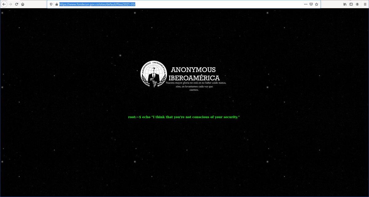 Anonymous Iberoamerica